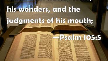 Remembering God's Wondrous Acts